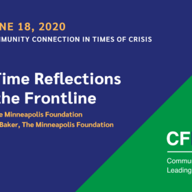 Community Connection in Times of Crisis: Real-Time Reflections from the Frontline