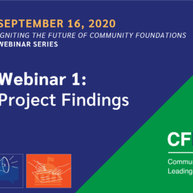 Igniting the Future Webinar Series 1 – Project Findings