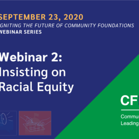 Igniting the Future Webinar Series 2 – Insisting on Racial Equity